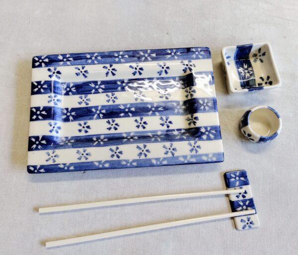 Set de Sushi de GEA cerámica artesanal