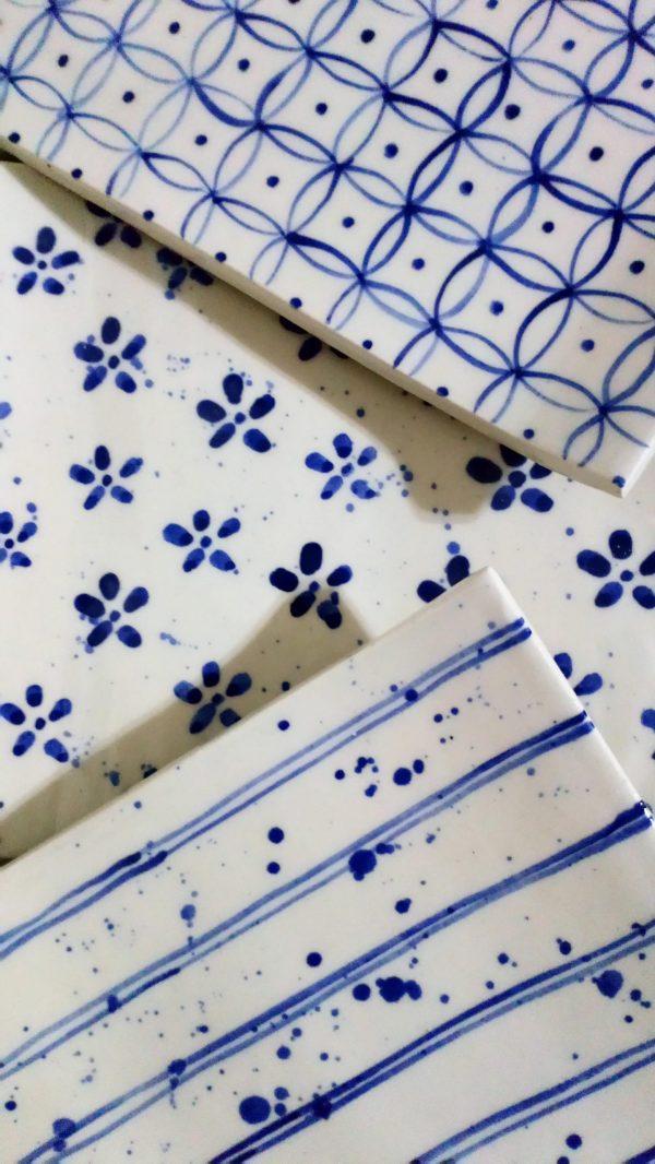Bandejita de cerámica artesanal.