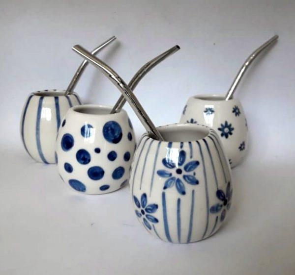 Mate Bola de cerámica artesanal GEA