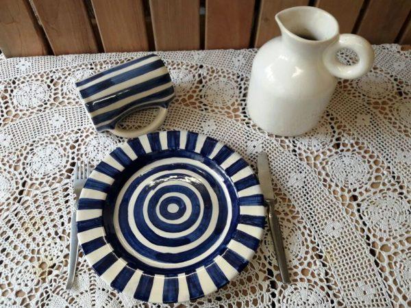 Plato para Pastas de cerámica artesanal GEA