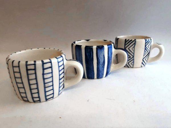 Pocillo de cerámica artesanal GEA