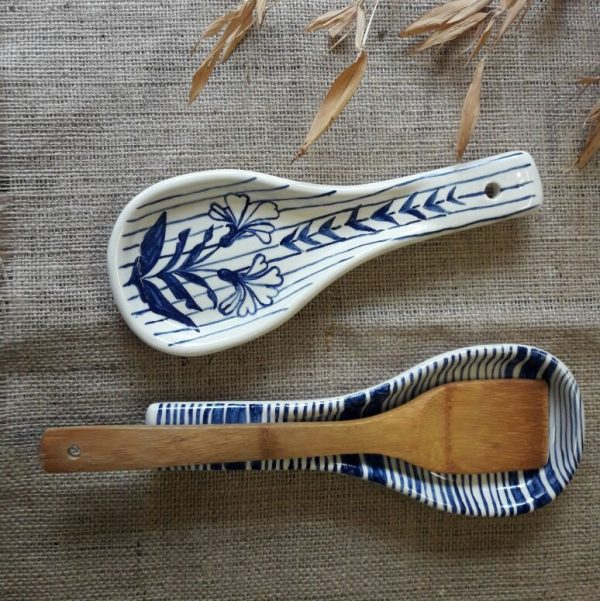 Posa Cucharón de cerámica artesanal GEA