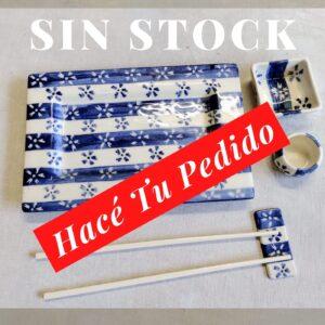Set de Sushi de GEA cerámica artesanal sin stock