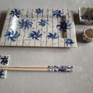 Set de Sushi de cerámica artesanal GEA