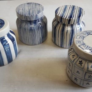 Tarro Grande de cerámica artesanal GEA