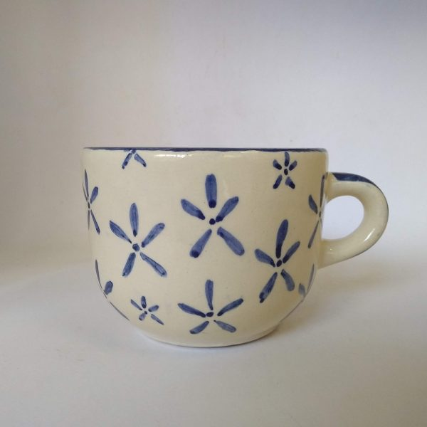Tazón grande de cerámica artesanal GEA