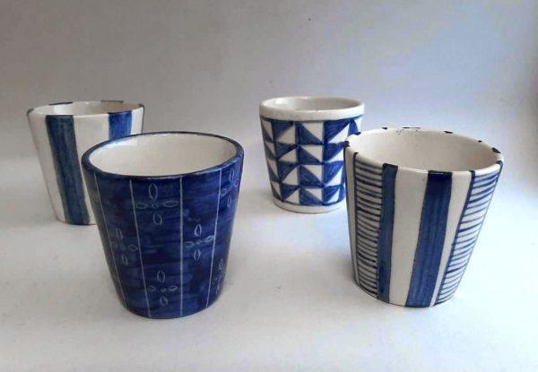 Vaso Chico de cerámica artesanal GEA