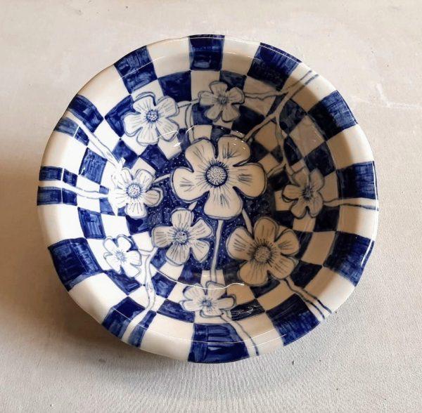 Fuente de cerámica artesanal
