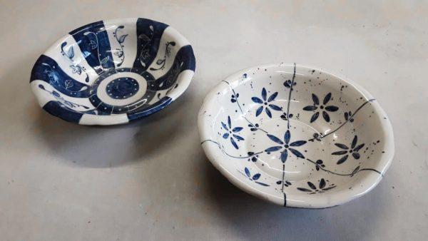 Fuente de cerámica artesanal GEA