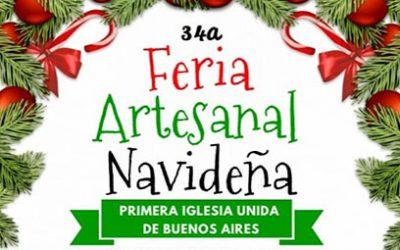 Gea estará presente en la Feria Artesanal Navideña en Primera Iglesia Unida de Buenos Aires, Acassuso encontrá tus regalos para esperar a Papá Noel