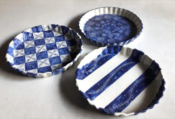 Tartera de cerámica artesanal GEA
