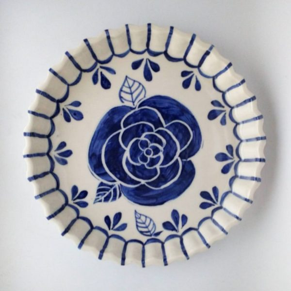 Tartera de cerámica artesanal GEA Ø