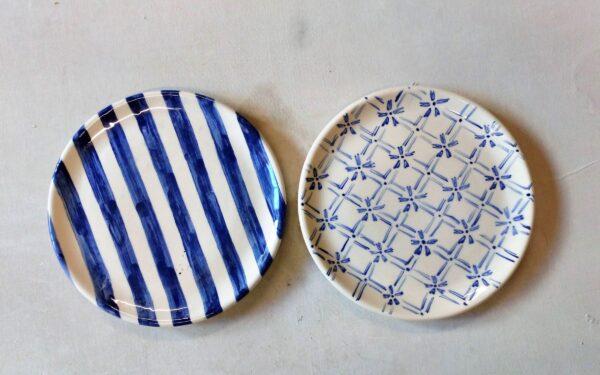 Plato Redondo Playo de GEA Cerámica Artesanal. Medidas: Ø 26 x 4 cm. Capacidad: 600 c.c.